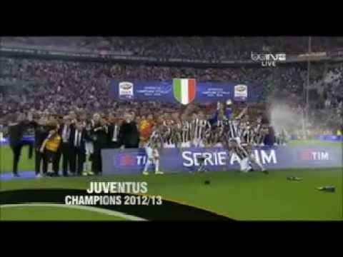 JUVENTUS FC. PREMIAZIONE SCUDETTO