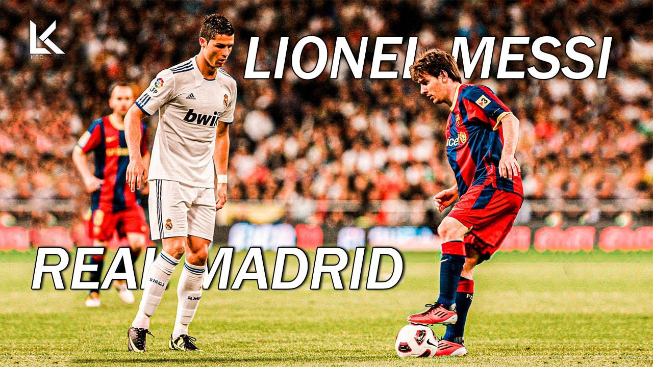 Download Lionel Messi vs Real Madrid in All Clasicos - Skills, Goals & Dribbling