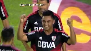 Gol de Martínez  River 3 Quilmes 1  Fecha 1 Primera División 2016