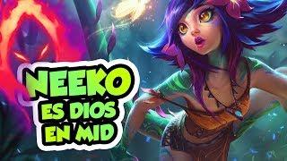 PRIMER GAMEPLAY DE LA NUEVA CAMPEONA NEEKO ¡DAÑO SIN SENTIDO! + SORTEO