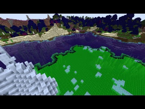 """What Happens if Biome """"Blending"""" is Negative in Minecraft!"""