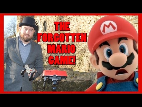 Mario Clash - The Forgotten Mario Game!  - Virtual Boy Review - Top Hat Gaming Man