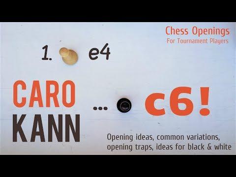 Caro-Kann Defense (introduction, main variations & ideas) ⎸Chess Openings