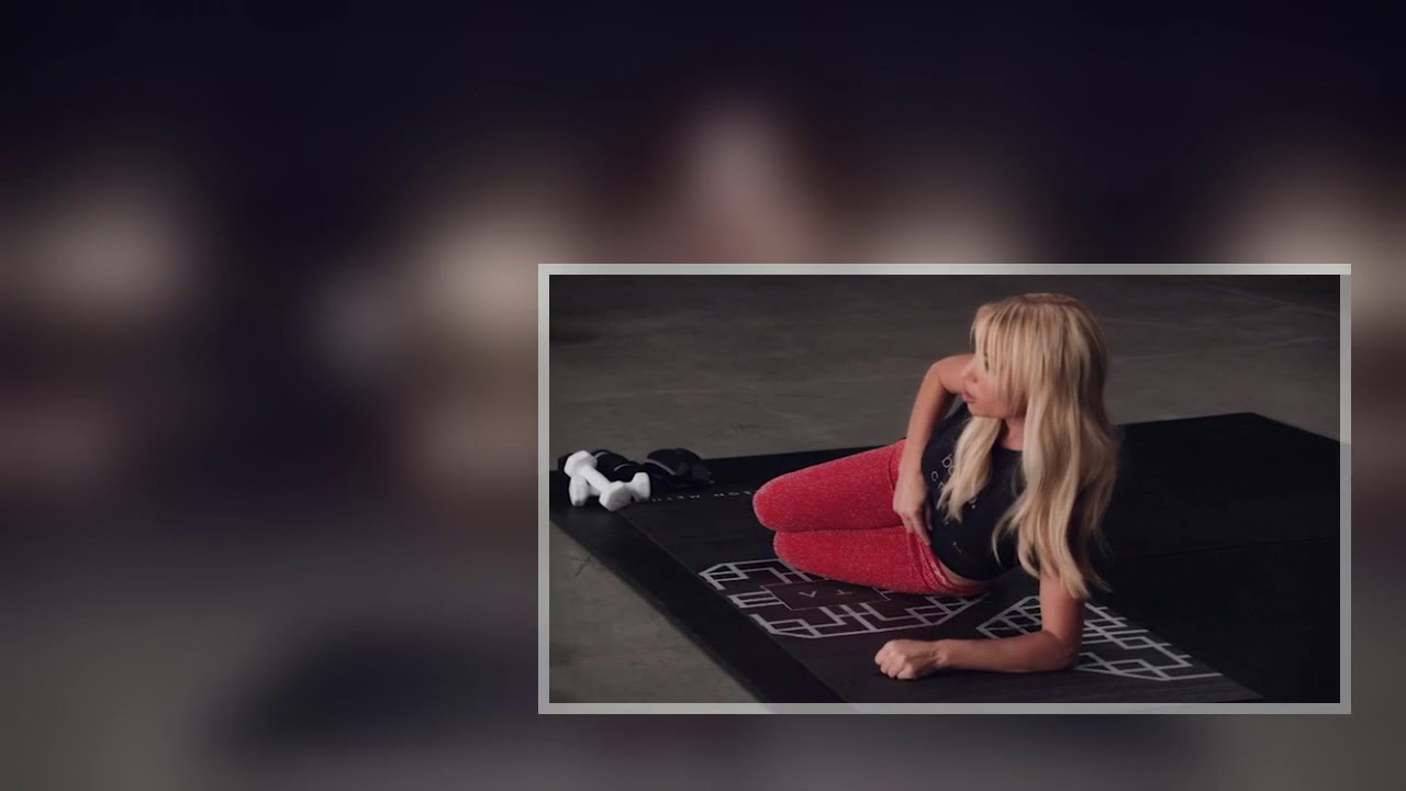 Tracy Anderson Mat Workout For Beginners 1 Youtube