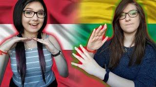 LATVIAN VS LITHUANIAN