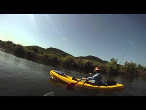 Brazos River Kayak Fishing