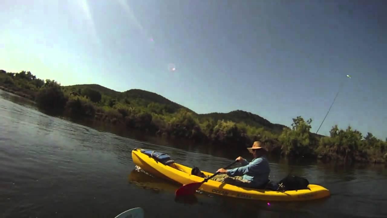 Brazos river kayak fishing youtube for Youtube kayak fishing