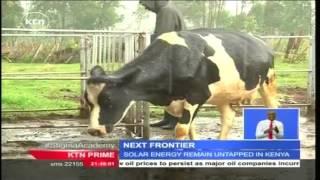 The Next Frontier: Farmer in Eldoret using solar milk cooling machine