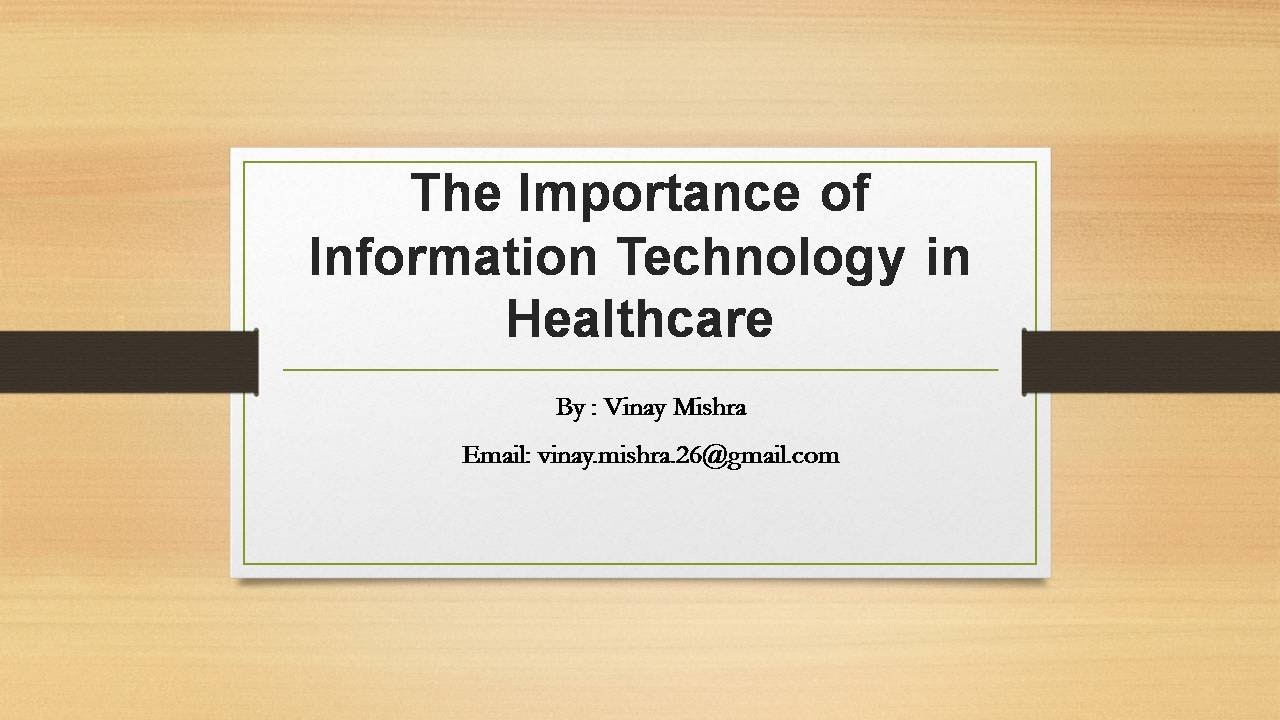 importance of information