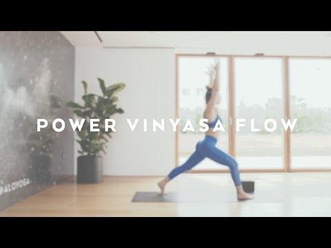 45-Minute Power Vinyasa Flow With Miki Ash