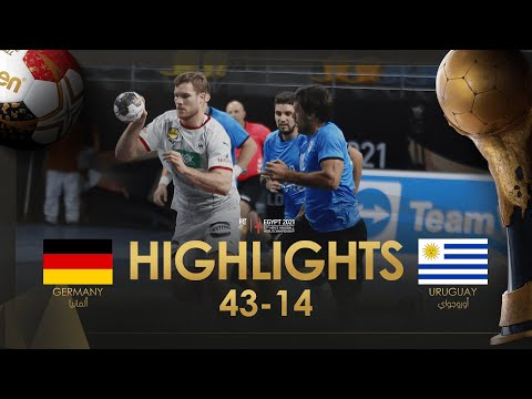 Highlights: Germany - Uruguay   Group Stage   27th IHF Men's Handball World Championship   Egypt2021
