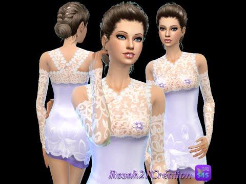 The Sims 4 - Смотрим мой гардероб. Повседневная (дополнительная одежда, скачанная одежда) - #1
