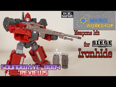 Matrix Workshop Weapons Upgrade Kit For Siege Ironhide (M-04) Review