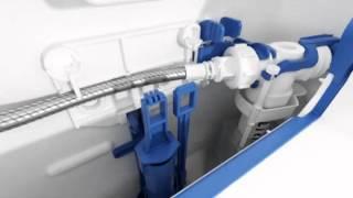 Geberit napouštěcí ventil