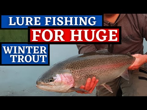 Fly Fishing For Trout In Winter - UKFlyFisher - Episode 2 - Lure Edition