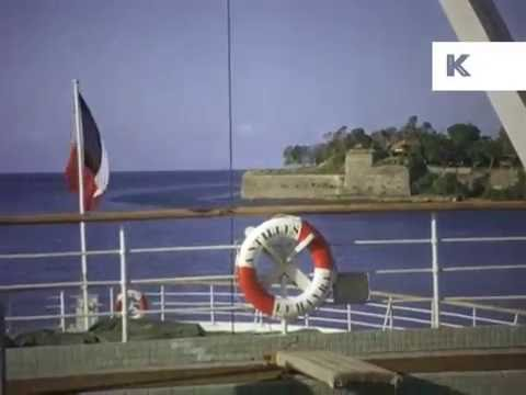 1950s, 1960s Martinique, Caribbean Colour Home Movies