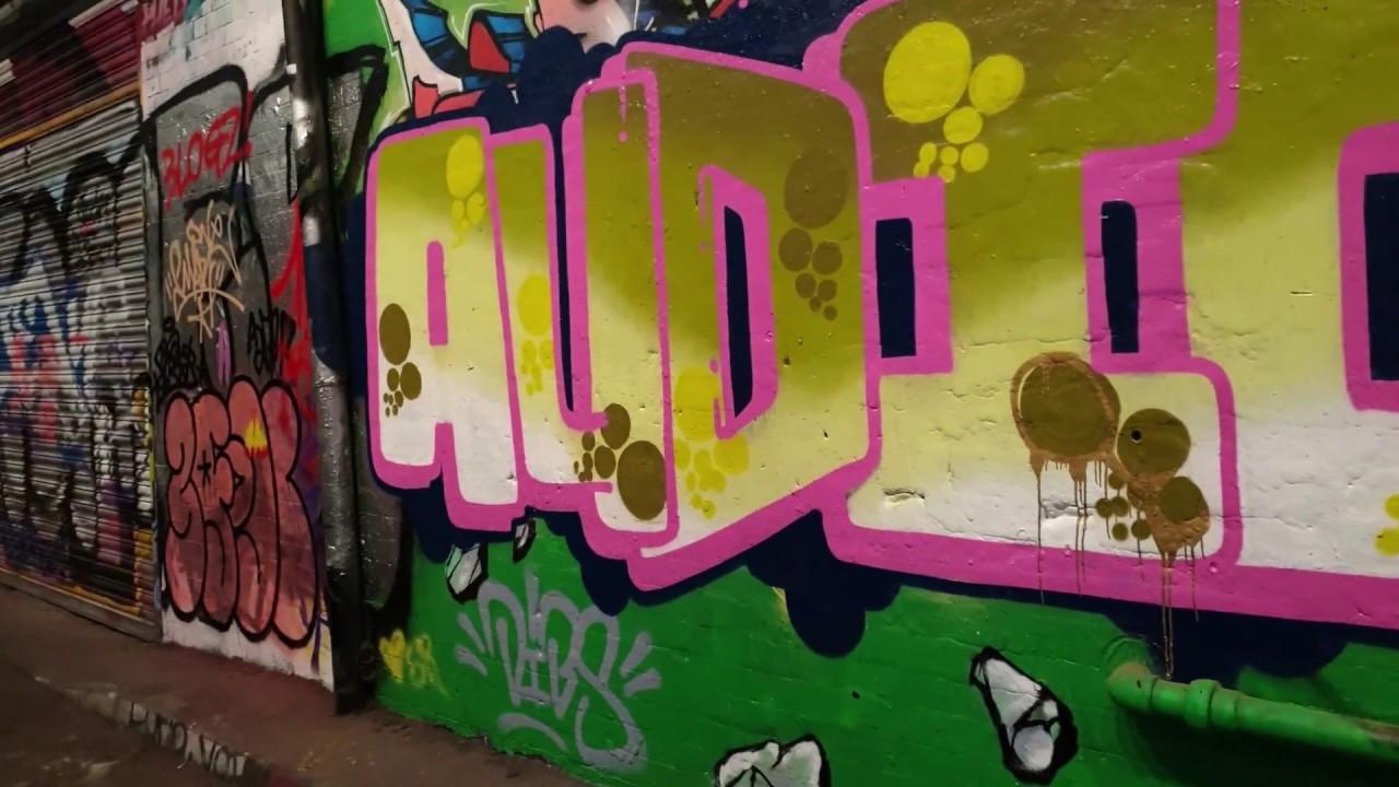 London Skratch Session Part 5 Leak Street Graffiti Tunnel Youtube