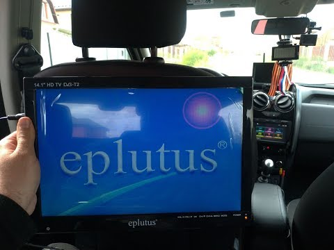 Портативный/автомобильный телевизор Eplutus EP-143T