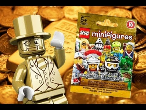 Unbagging LEGO Minifigures Series 10 With Mr. Gold! - YouTube