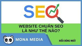 Thiết kế website chuẩn SEO là cái gì vậy?!