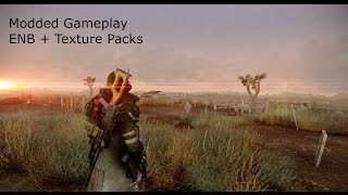 Fallout New Vegas - 2.5 Hours of Modded Gameplay 2016 (ENB and Texture Packs)