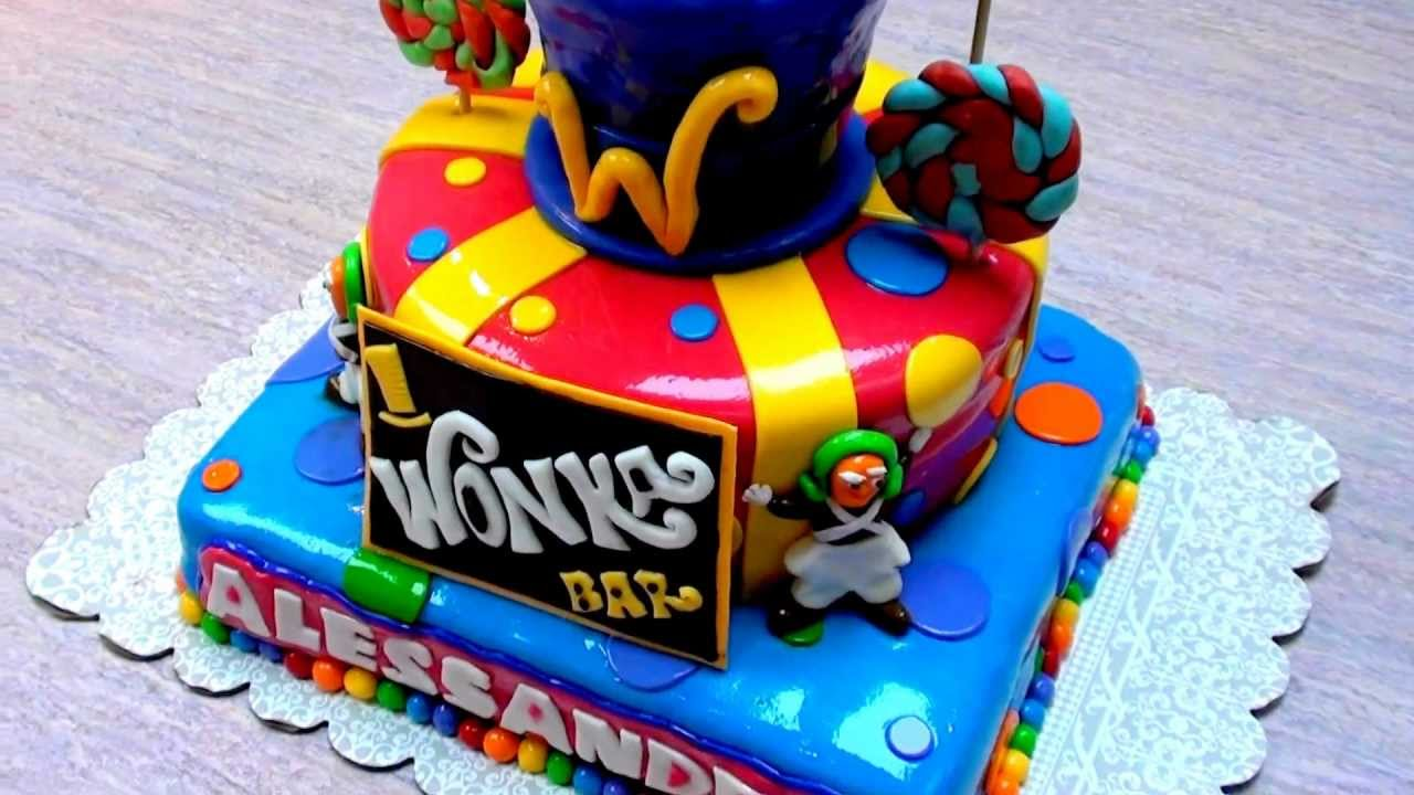 willy wonka cakes