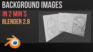 2.8 Blender arka Plan Görüntüleri yerleştirerek