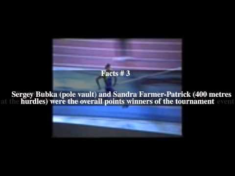 1993 IAAF Grand Prix Final Top # 5 Facts
