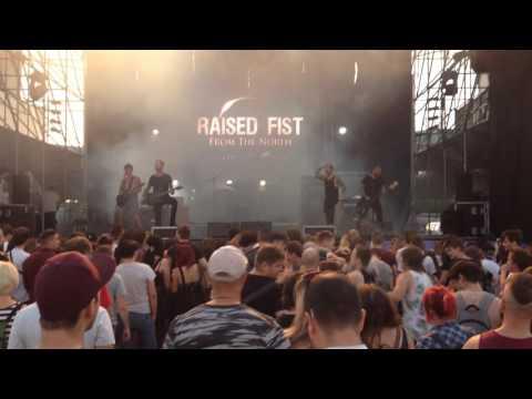 Raised Fist - In Circles (Live @ Barba Negra Track 24/08/2016)