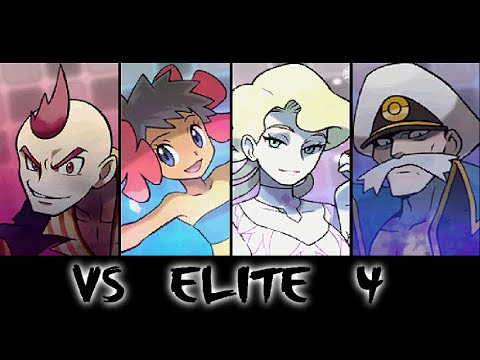 Pokemon Omega Ruby - The Elite 4