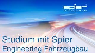 Studium mit Spier - Engineering Fahrzeugbau