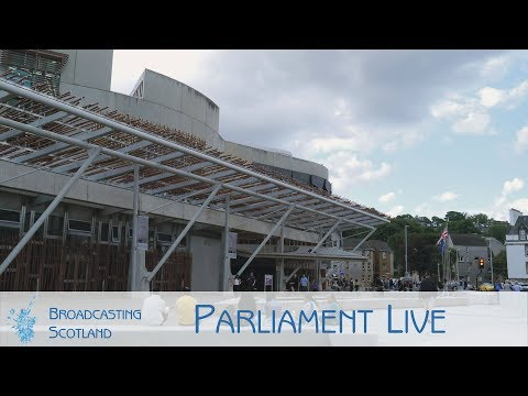 Parliament Live from Holyrood - 24/04/2019