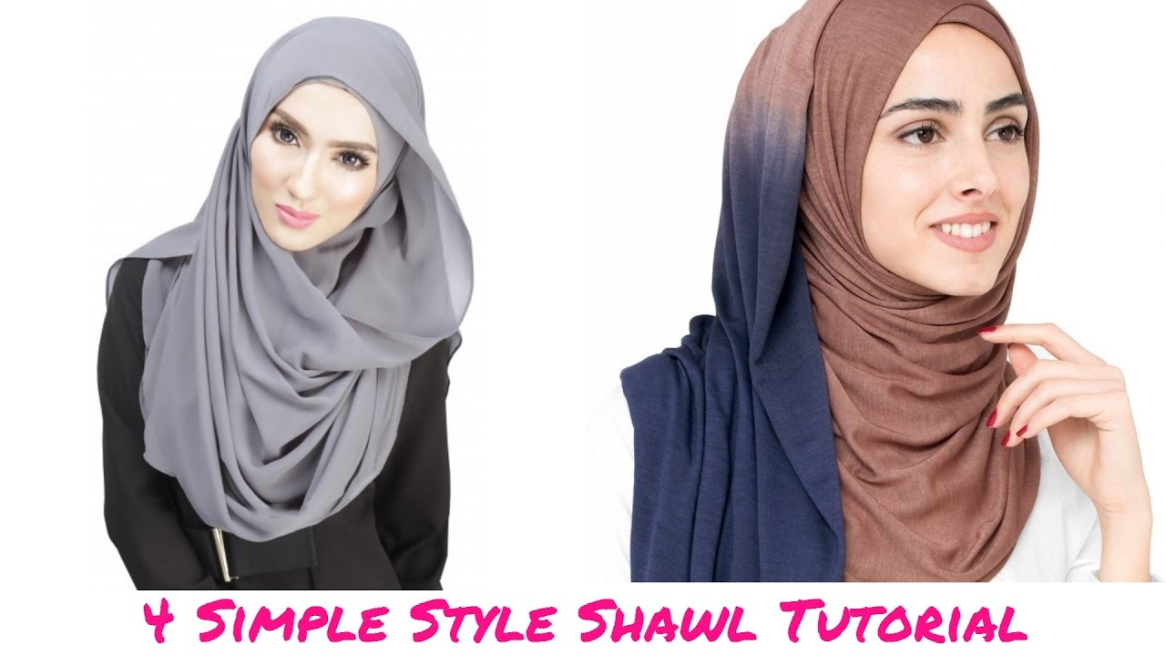 Tutorial Shawl 4 Simple Style Shawl Tutorial Hijab Tutorial