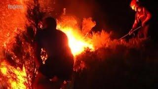 Espagne: un incendie ravage un parc national