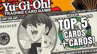 Top 5 Cartas mais Caras de Yu-Gi-Oh!