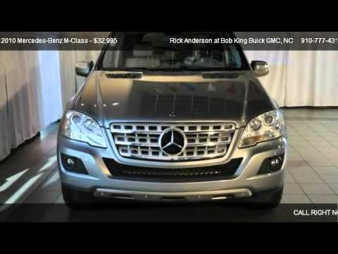2010 Mercedes Benz M Class ML350   For Sale In Wilmington, NC 28403