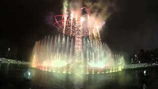 #EXPO2015 - Gli spettacolari giochi di luce e acqua dell