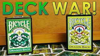 Deck War - Green Dragon Back VS Yellow Dragon Back [HD]