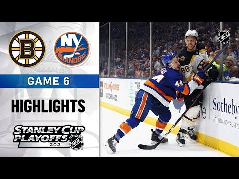 Second Round, Gm 6: Bruins @ Islanders 6/9/21 | NHL Highlights