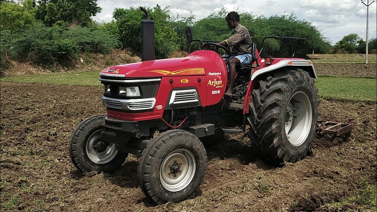 Mahindra arjun 555 Ultra-1 / 2018 New launched Tractors / Village tractor-  Come From Village