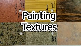 Painting Textures - Wood, Granite, Marble, Crackle