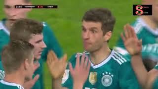 Espagne 1-1 Allemagne (23- 03- 2018) match amical