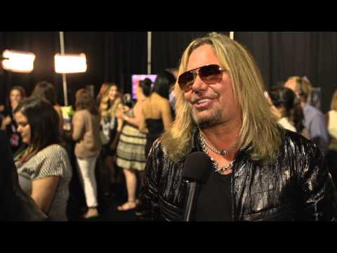 2014 CMT Music Awards Backstage with Vince Neil Presented  Verizon