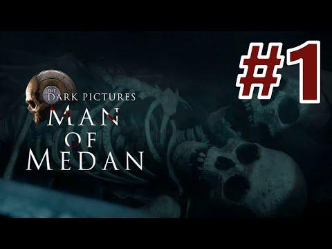 Видео: The Dark Pictures Anthology: Man of Medan   Прохождение ▶ Часть 1