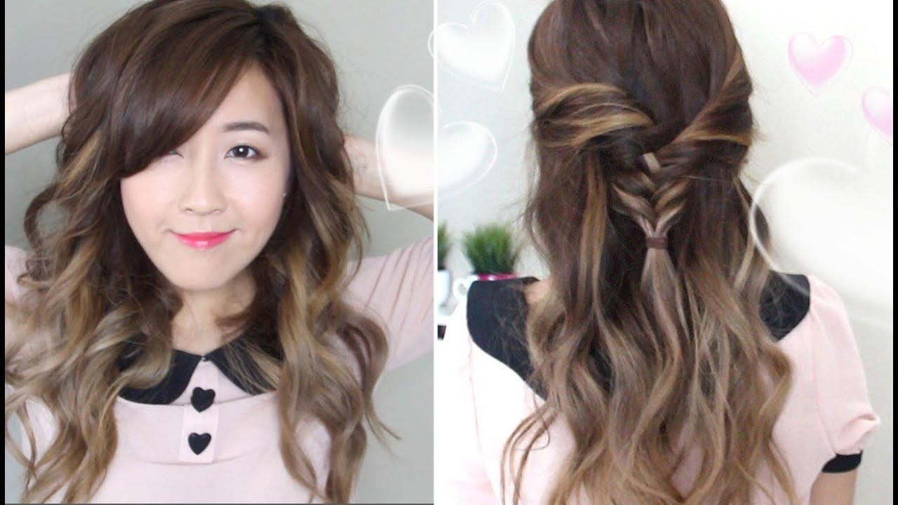 Hair Styles For Summer: 2 Romantic Hairstyles