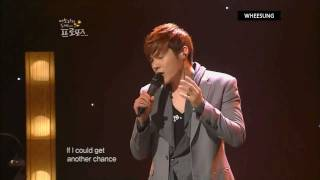 [110524] 휘성(Wheesung) - Dance with my father (Live)