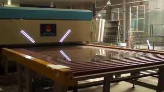 Подача стекла в печь закалки(, 2014-09-22T19:59:51.000Z)