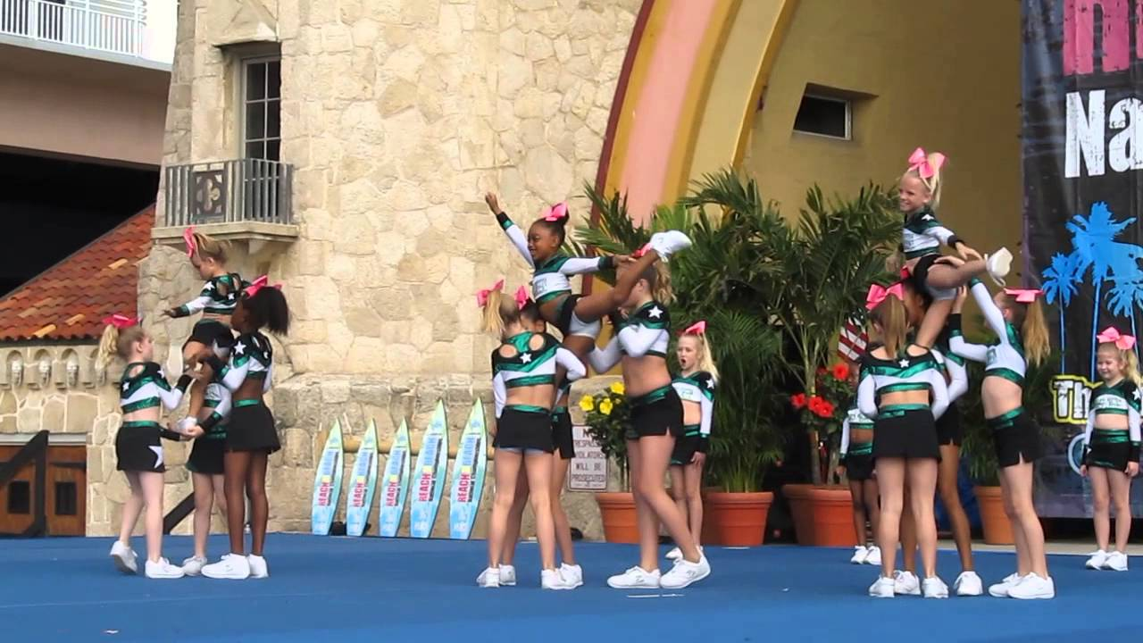 Reach The Beach Cheer Compeion Lynx
