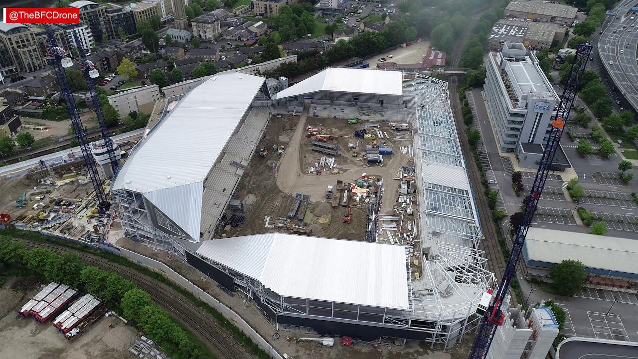 Brentford FC's New Stadium - May 2019 Update - YouTube