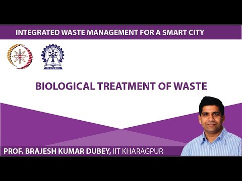Lecture 29 : Biological Treatment of Waste
